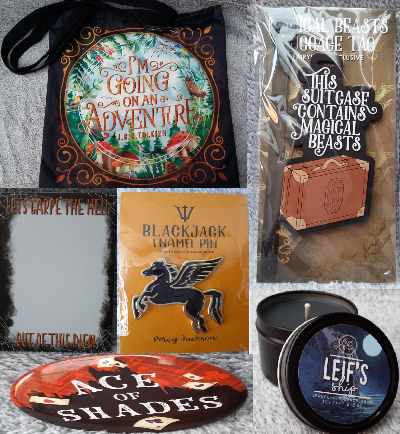Whimsical journey goodies